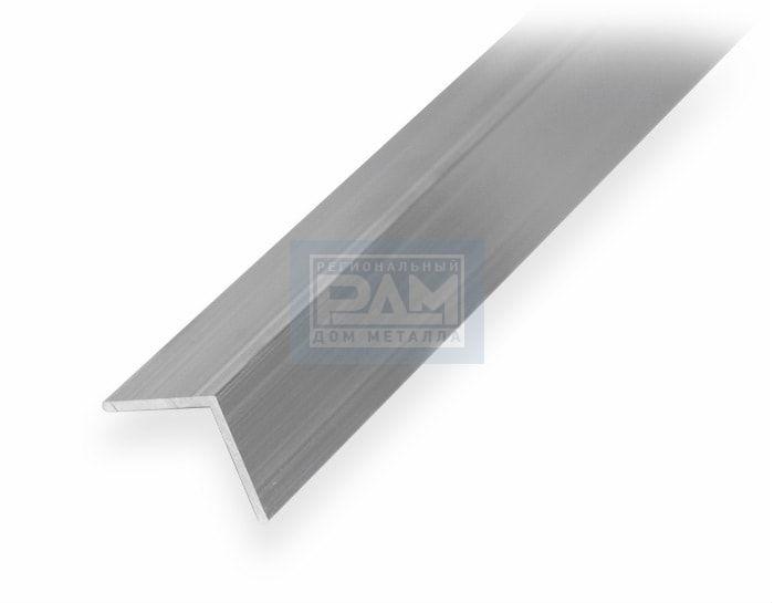 Алюминиевый уголок 25х25 рис 2
