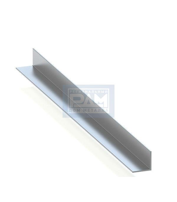 Алюминиевый уголок анодированный рис 1
