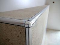 Алюминиевый уголок для плитки рис 2