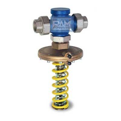 Пружинный регулятор давления воды