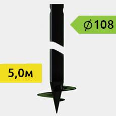 Винтовые сваи 108 мм
