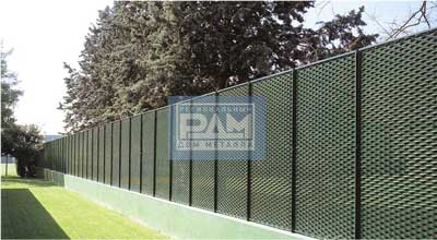 Забор из просечно-вытяжных листов ПВЛ