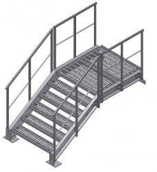 Изготовление металлических лестниц в СПб