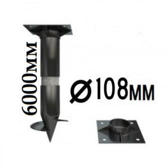 Купить винтовые сваи 108 мм в СПб