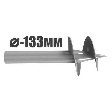 Сваи винтовые 133 мм
